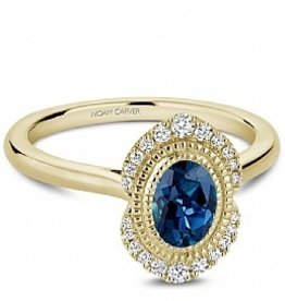 Noam Carver London Bue Topaz & Diamonds