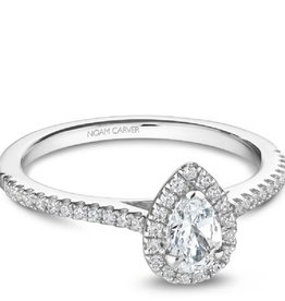 Noam Carver Halo Pear (0.89ct)