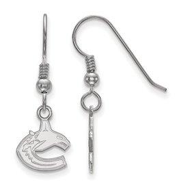 Vancouver Canucks Dangle Earrings Sterling Silver