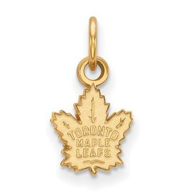 Toronto Maple Leafs Pendant 10K Yellow Gold (9mm)