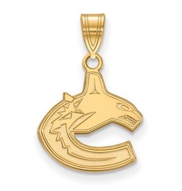 Vancouver Canucks Pendant Yellow Gold (13mm)