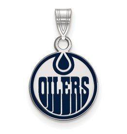 Edmonton Oilers Enamel Pendant (13mm)
