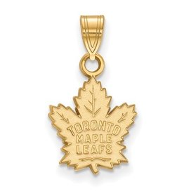 Toronto Maple Leafs Pendant Sterling Silver GP (11mm)