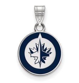 Winnipeg Jets Enamel Pendant (Small)