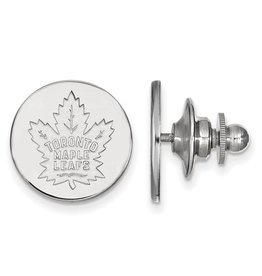 Toronto Maple Leafs Lapel Pin Sterling Silver
