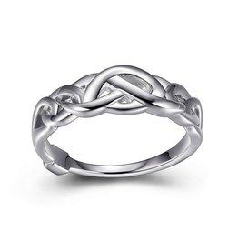 Elle Infinity Link Ring