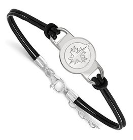 Winnipeg Jets Leather Bracelet