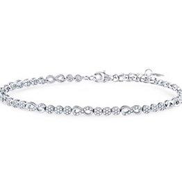 Infinity CZ Bracelet
