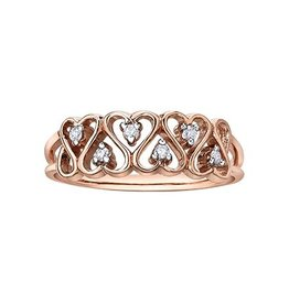 Diamond Rose Gold (0.06ct)