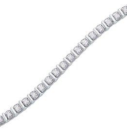 Tennis Bracelet (1.00cttw) White Gold