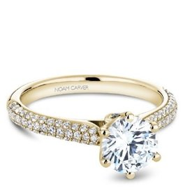 Noam Carver Diamond Mount Yellow Gold