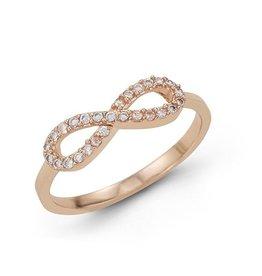 Infinity CZ Ring Rose