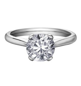 Brilliant (2.00ct) Canadian Diamond Solitare Ring