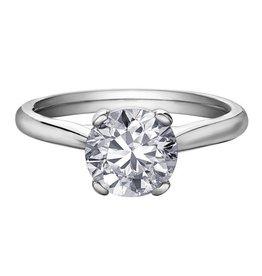 Brilliant (1.72ct) Canadian Diamond Solitare Ring