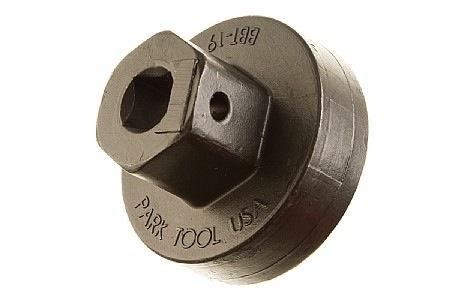 "PARK TOOL BBT-19.2 Bottom Bracket Tool for External Cup, 16 notch, 3/8"" drive, for Shimano, Campagnolo, FSA, SRAM/Truvativ"