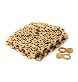 KMC KMC Chain, X10SL Gold, fits Campy, Shimano, Sram 10s
