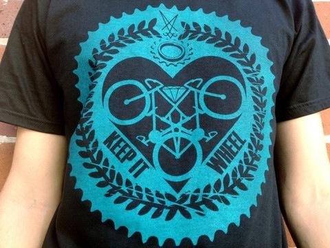 Burro Bags Burro Bags Keep It Wheel T-Shirt