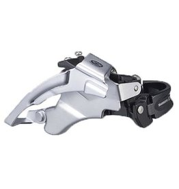 Shimano SHIMANO  FD Deore Front Derailleur 3x9sp, Top swing, Dual pull, Multi clamp, For 44/48T