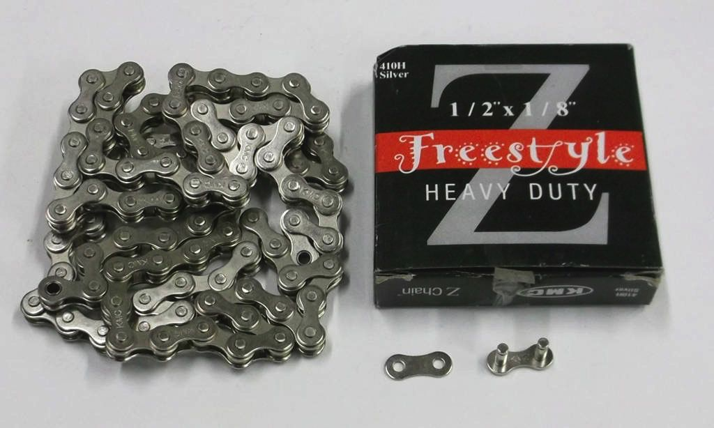 "KMC KMC Z410 Chain. 1/8"" Silver. Heavy Duty"