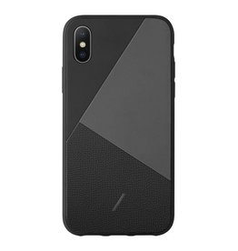 Native Union Native Union Clic Marquetry Case for iPhone XS/X - Black