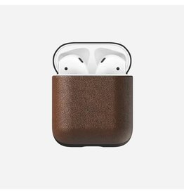 Nomad Rugged Leather Case for AirPods - Brown