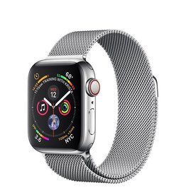 Apple Watch Series4 GPS+Cellular, 40mm Stainless Steel Case with Milanese Loop