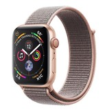 Apple AppleWatch Series4 GPS+Cellular, 44mm Gold Aluminium Case with Pink Sand Sport Loop