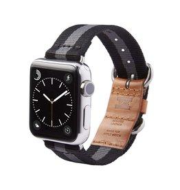 TOMS TOMS Apple Watch 38mm Utility Band - Black Stripe