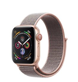 Apple AppleWatch Series4 GPS+Cellular, 40mm Gold Aluminium Case with Pink Sand Sport Loop