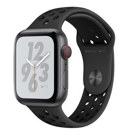 Apple AppleWatch Nike+ Series4 GPS+Cellular, 44mm Space Grey Aluminium Case with Anthracite/Black Nike Sport Band