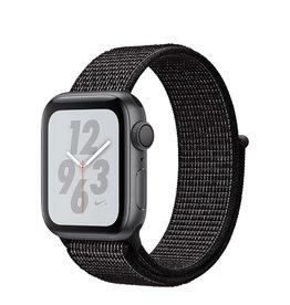 Apple AppleWatch Nike+ Series4 GPS, 40mm Space Grey Aluminium Case with Black Nike Sport Loop
