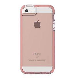 Gear4 D30 Piccadilly Case for iPhone 5/SE - Clear / Rose Gold