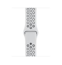 Apple Apple Watch 44mm Pure Platinum/Black Nike Sport Band
