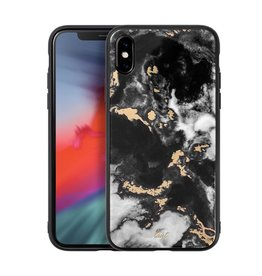 LAUT Mineral Glass Case for iPhone XS Max - White