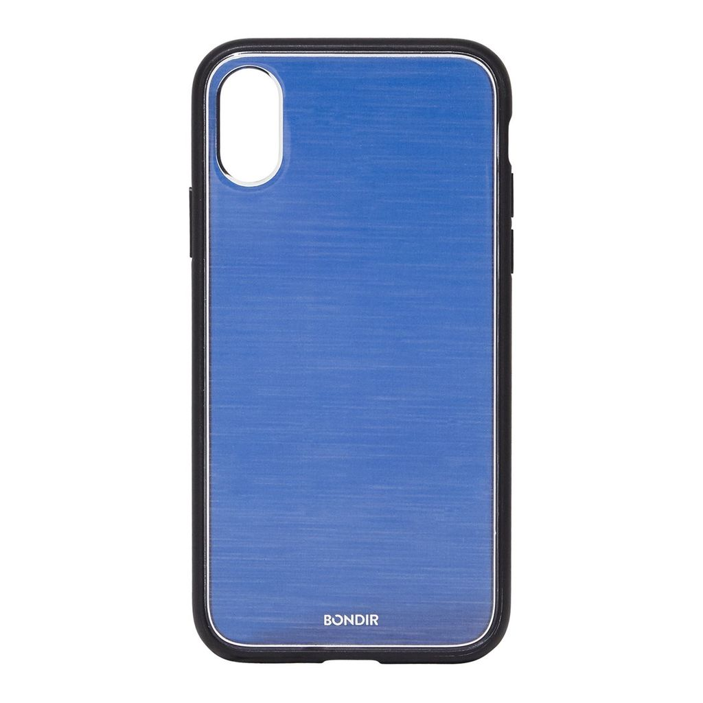 Bondir Clear Coat Case for iPhone XR - Mist Navy