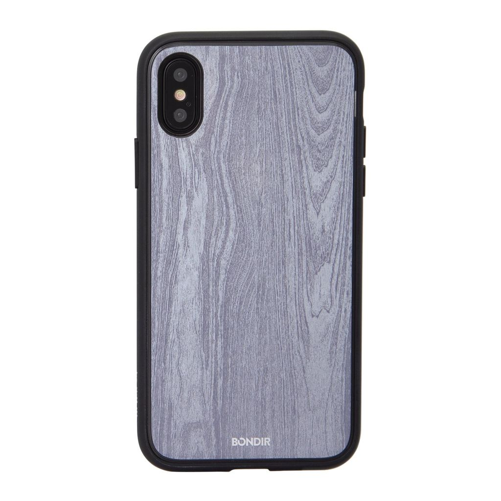 Bondir Clear Coat Case for XS/X - Wood Grain