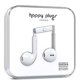 Happy Plugs Happy Plugs Earbud Plus with Remote & Mic - White