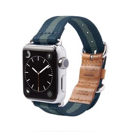 TOMS TOMS Apple Watch 38mm Utility Band - Navy Stripe