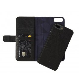 Decoded 2-in-1 Wallet Case for iPhone 8/7/6 Plus- Black