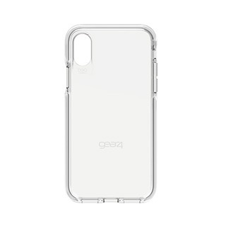 Gear4 D30 Piccadilly Case for iPhone XS/X - Clear / White