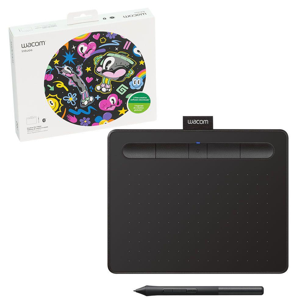 Wacom Creative Pen Tablet Bluetooth Small Black Jump Plus