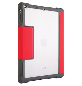 STM STM Dux Plus Case with Pencil Holder for iPad 9.7-inch (2017/2018)  - Red