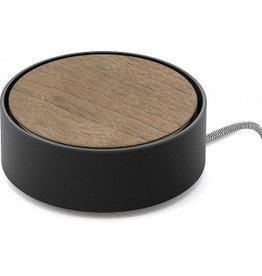 Native Union Native ECLIPSE Charging Base - Black / Walnut