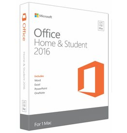 Microsoft Office MAC Home and Student 2016 English Medialess - 1 Mac
