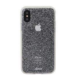 Sonix Sonix  Glitter Series Case for iPhone XS/X - Silver Glitter