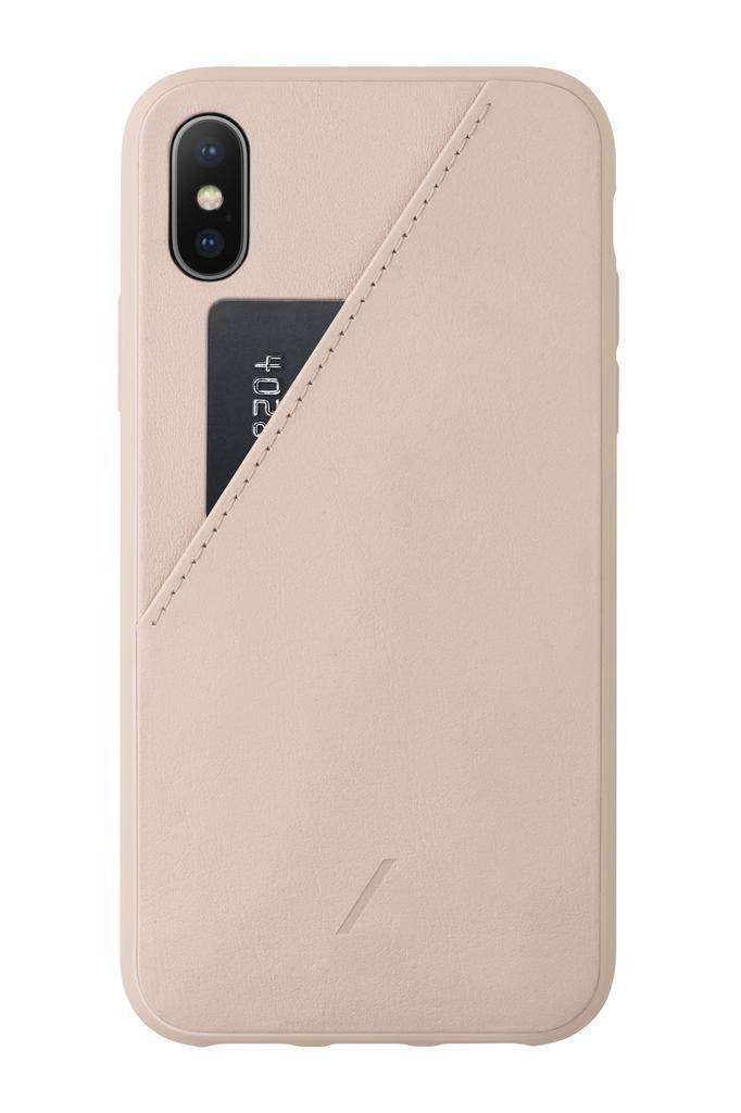 Native Union Native Union Clic Card Case for iPhone XS Max - Rose