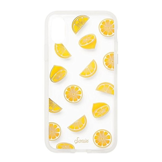 Sonix Sonix Clear Coat Case for iPhone XS/X - Lemonade