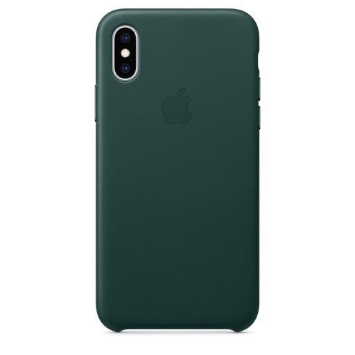 Apple Apple iPhone XS Leather Case - Forest Green