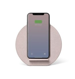 Native Union Native Union Dock Wireless  Qi Charger - Canvas Rose