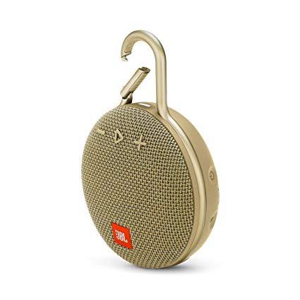 JBL JBL Clip3 Bluetooth Speaker - Sand (Gold)